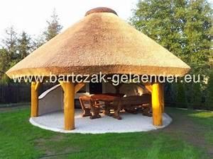 Gartenlauben Aus Holz : gartenpavillon mit reetdach gartenpavillon holz reetdach ~ Watch28wear.com Haus und Dekorationen