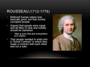 jean jacques rousseau popular sovereignty general