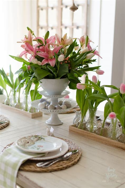 dinner table centerpiece ideas 179 best spring home tour 2017 images on pinterest home