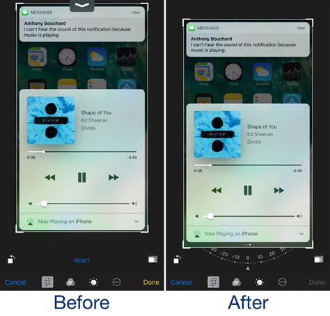 crop on iphone betterphotocrop keeps the notification center grabber from