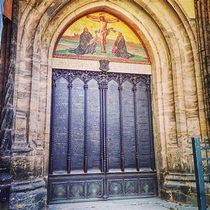 October 31, 1517: Luther nailed his 95 Theses to the door ...