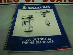 1990 Suzuki Marine Wiring Diagram Manual 99954