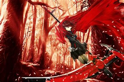Rwby Ruby Rose Anime Wallpapers Deviantart Background