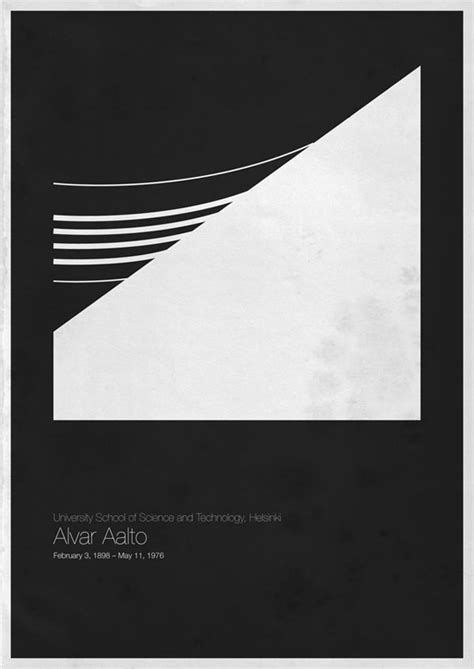 Minimalist Architecture  Poster Designs By Andrea Gallo