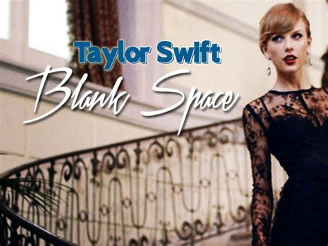 blank space taylor swift  letter notation