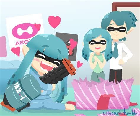 Splatoon Seems To Be Developing Quite The Fan Art
