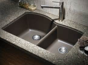 kitchen faucet and sink combo granite kitchen sink ideas for a beautiful look the kitchen