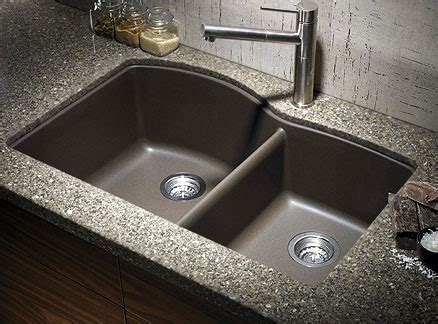granite countertops with undermount sinks granite kitchen sink ideas for a beautiful natural stone