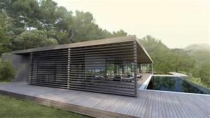 Maison Bois Contemporaine : maison moderne ~ Preciouscoupons.com Idées de Décoration