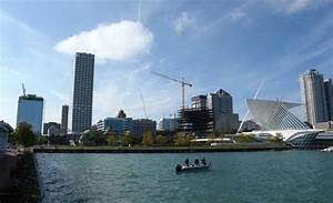 Downtown Milwaukee Transforms In Bustle Of Development