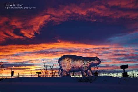 The Sun Rises Near University Of Alaska Fairbanks Campus
