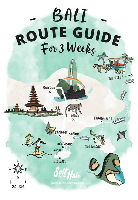 bali route guide ultimate  week guide      bali