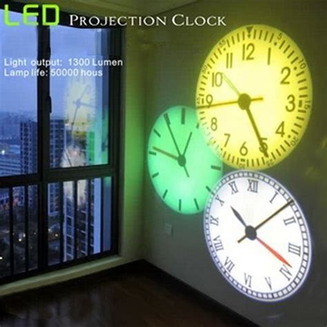 led projection clock luminous led digital clocks beautiful