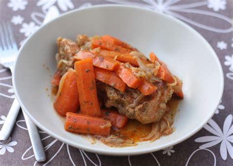 mijoté de veau aux oignons carottes et épices chez
