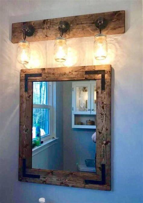 rustic full bathroom set handmade bathroom decor mirror