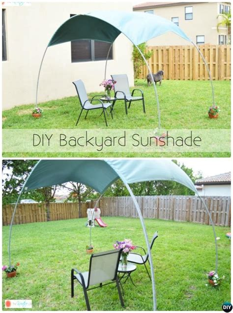 Diy Backyard Canopy by These Diy Outdoor Pvc Canopy Shades Make Your Outdoor Even