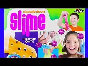 Nickelodeon Slime Kit Slimy Extravaganza Neon Glow in