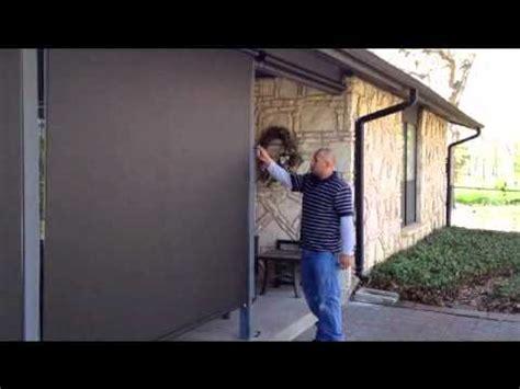 manual  patio screen shades austin youtube