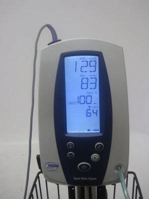 Used WELCH ALLYN 42NOB Spot Vital Signs Monitor For Sale