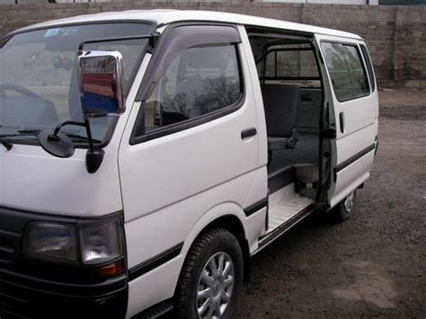 Toyota Hiace Picture by 1999 Toyota Hiace Pictures 3000cc Diesel Automatic For