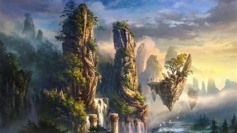 fantasy world background wallpaper desktop hd