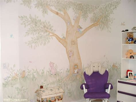 tree wall murals  hand painted tree wall mural examples
