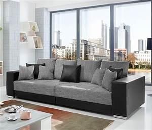 Sofaüberwurf Für Xxl Sofa : bigsofa adria big sofa wohnzimmer xxl couch stoffausf hrung oder materialmix ebay ~ Bigdaddyawards.com Haus und Dekorationen