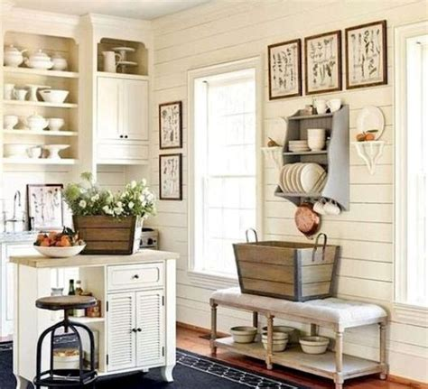 When space is luxury for you in the kitchen you must definitely opt for the the kitchen island can be very useful for the open kitchens and this is way useful when you have dining room attached. 35 Cozy And Chic Farmhouse Kitchen Décor Ideas - DigsDigs
