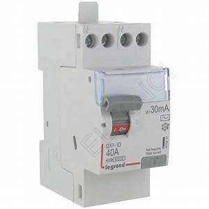Materiel Electrique Legrand Pas Cher : interrupteur diff rentiel 40a 30 ma bipolaire 230v type ac ~ Dailycaller-alerts.com Idées de Décoration