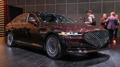 Grille Growth: Refreshed 2020 Genesis G90 Finally Hits ...