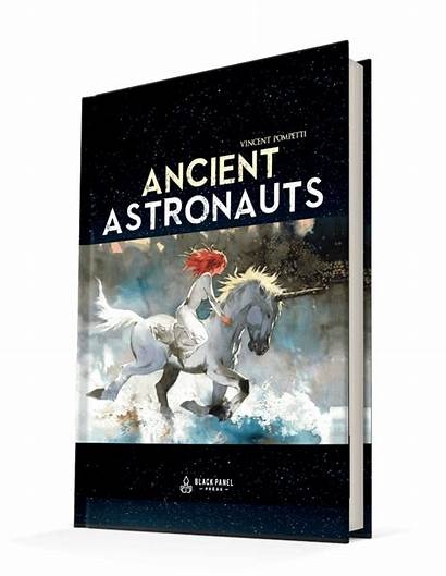 Graphic Novel Ancient Astronauts Sci Fi Release