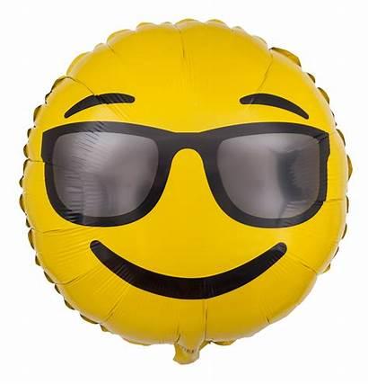 Smiley Sonnenbrille Ballon Emoji Smileys Bouquet Birthday