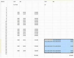 Arbeitszeit Mit Excel Berechnen : mit excel stunden berechnen themenfreund ~ Themetempest.com Abrechnung