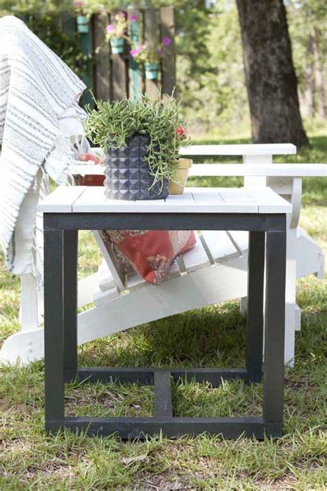 fabriquer un canapé table basse de jardin à faire soi même 24 idées créatives