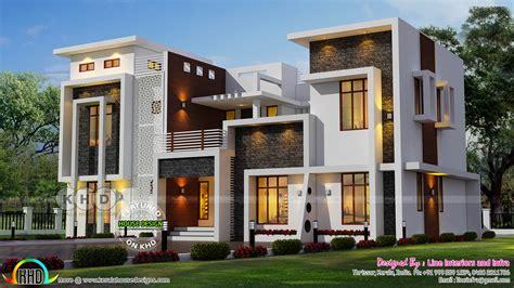 contemporary home designs june 2017 kerala home design and floor plans