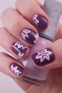 Hd wallpapers desktop p purple nail art