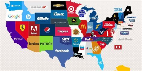 Here Are The Mostgoogled Brands In Each State  Huffpost