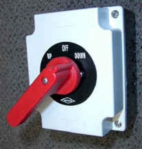 Boat Lift Switch Handle by Bremas Switches Electram Canada Usa Regional