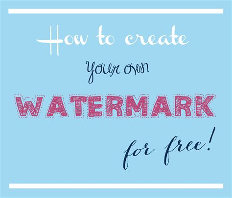 photography tip   create   watermark