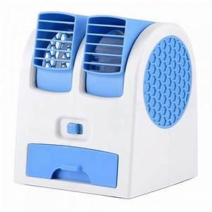 Petit Ventilateur De Bureau : mini climatiseur de bureau usb rechargeable petit ventilateur de refroidissement portable ~ Teatrodelosmanantiales.com Idées de Décoration