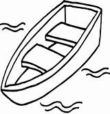 Boat Coloring Row Pages Printable Getcolorings sketch template