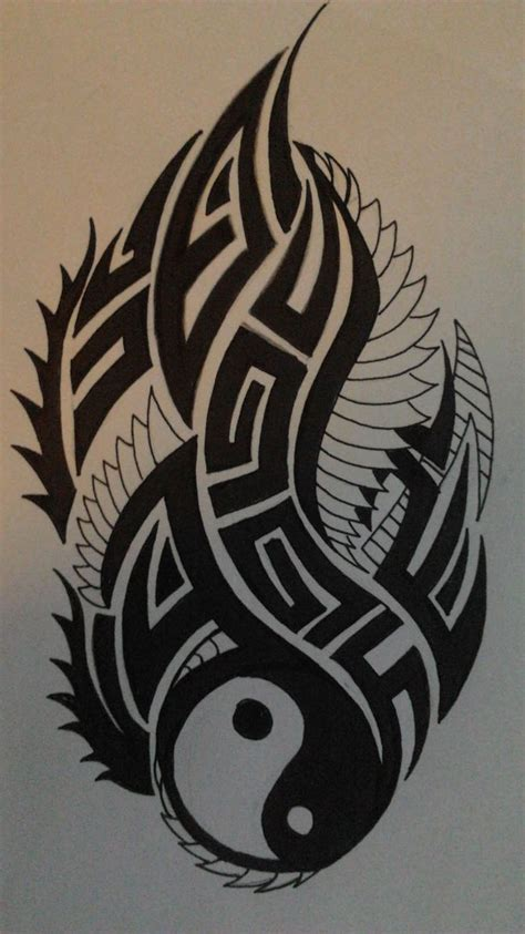 Fosil Motif Yin Yang 33 best tattoos ying yang images on