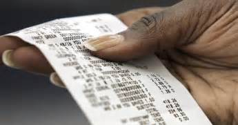 bpa absorbed  cash register receipts study finds