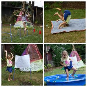 Make Your Own Obstacle Course for Kids