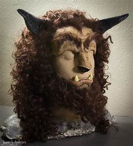 Mr. Chicken's Haunted Projects Blog: Beast Mask