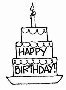Birthday Clipart Black And White - Cliparts.co