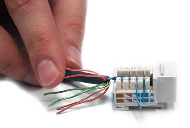 How Wire Keystone Jack