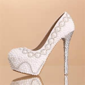 escarpins mariage chaussure de mariée magnifique recouvert de perles et strass escarpin mariage au talon plate