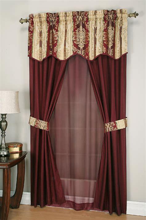 cannon  piece curtain set promenade home home decor