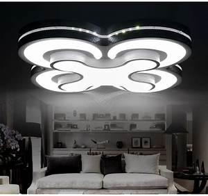 Led Design Deckenleuchte : led deckenleuchte 2031 kleeblatt design lichtfarbe helligkeit einstellbar 2015 ebay ~ A.2002-acura-tl-radio.info Haus und Dekorationen